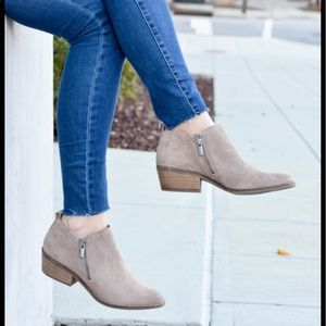 Lucky brand ankle moto booties